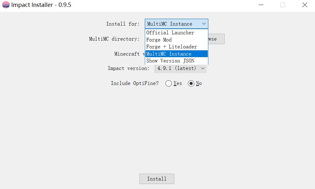 《我的世界impact客户端mod_1.11.2和1.12.2至1.16.5——附带功能翻译安装教程》